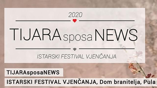 Istarski Festival Vjenčanja TIJARAsposaNEWS u Puli 25. i 26. siječnja